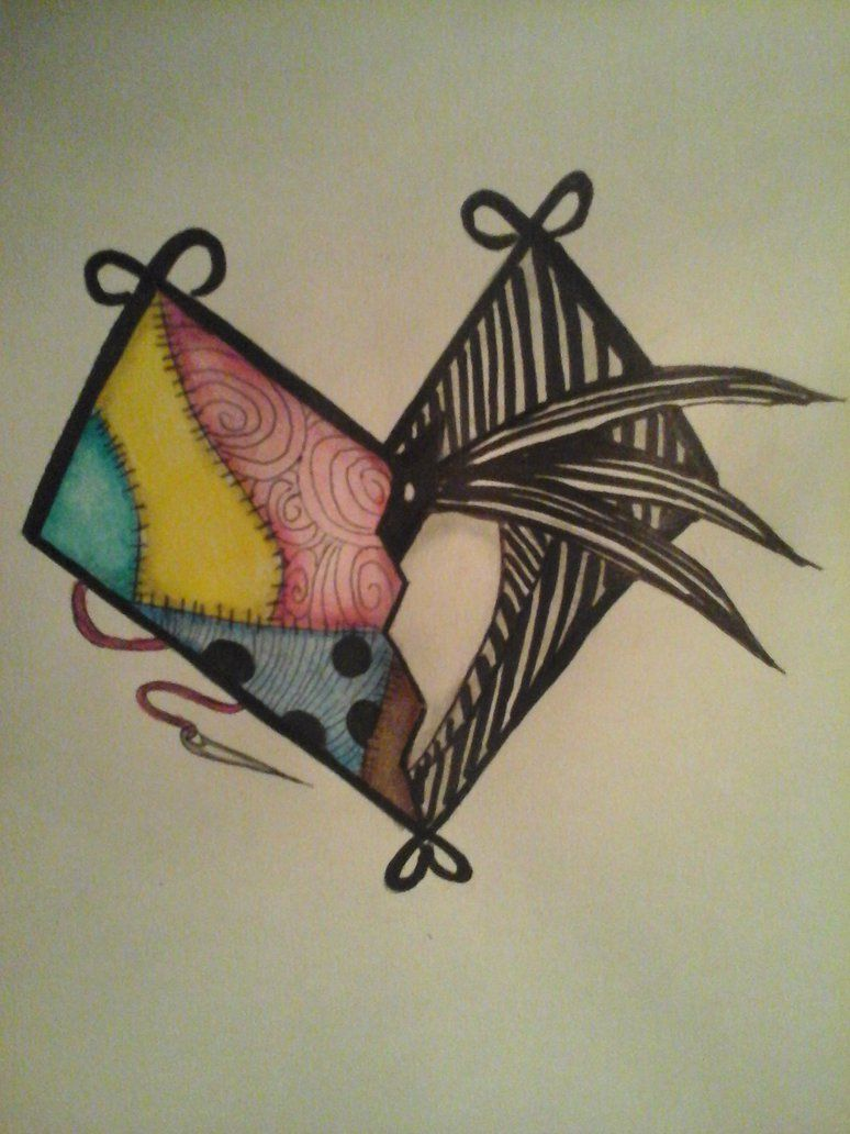 NBC heart tattoo design by NeonPanther95.deviantart.com on ...