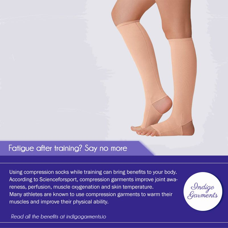 Avoid the chronic fatigue athletes use compression socks