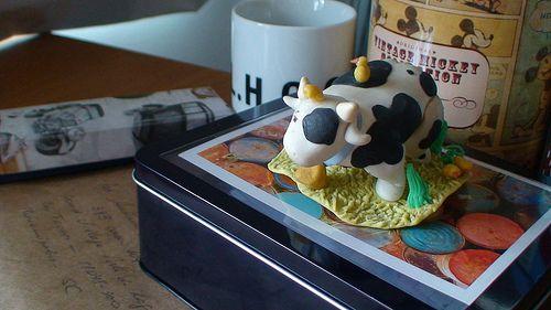 Minha primeira peça em biscuit   Flickr - Photo Sharing!