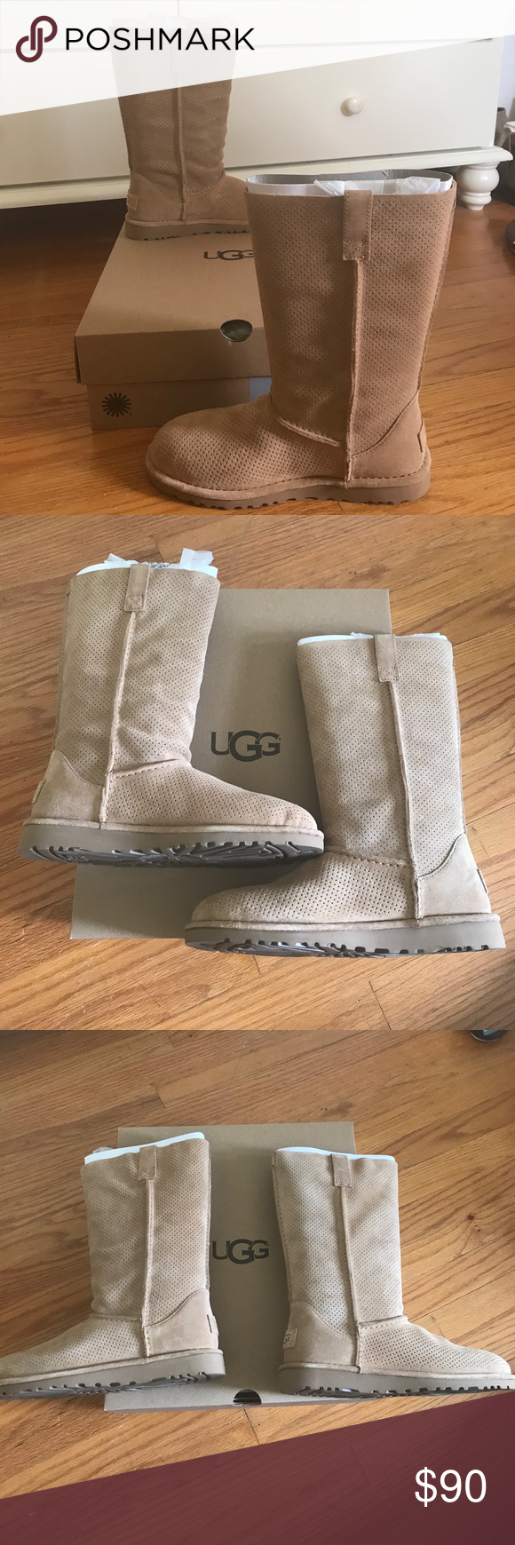 d411a37198f NEW Ugg 7 Classic Unlined Tall Perf Brand new in box. Ugg size 7 ...