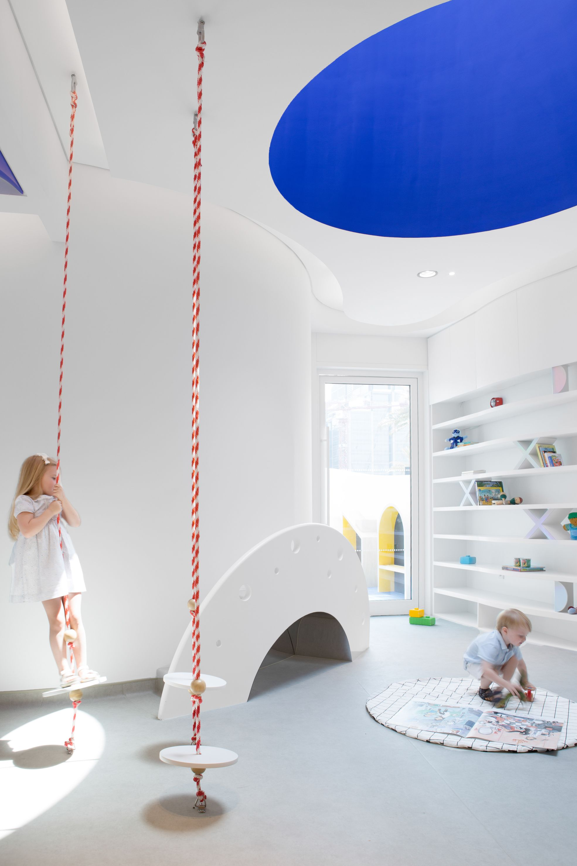 Roar-designed nursery in Dubai offers an outlook into the future of