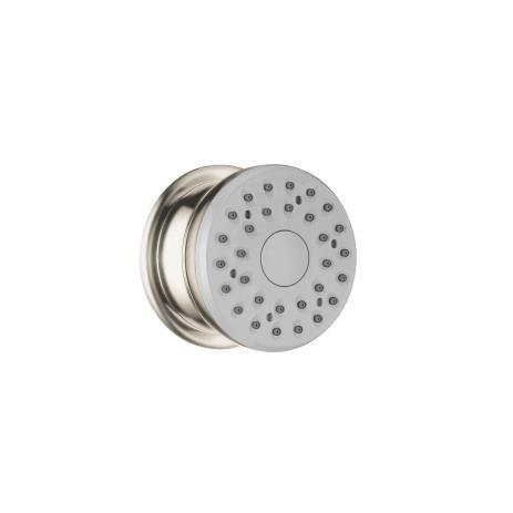 Westbrass Snap In 4 5 Shower Strainer Polished Brass Polished