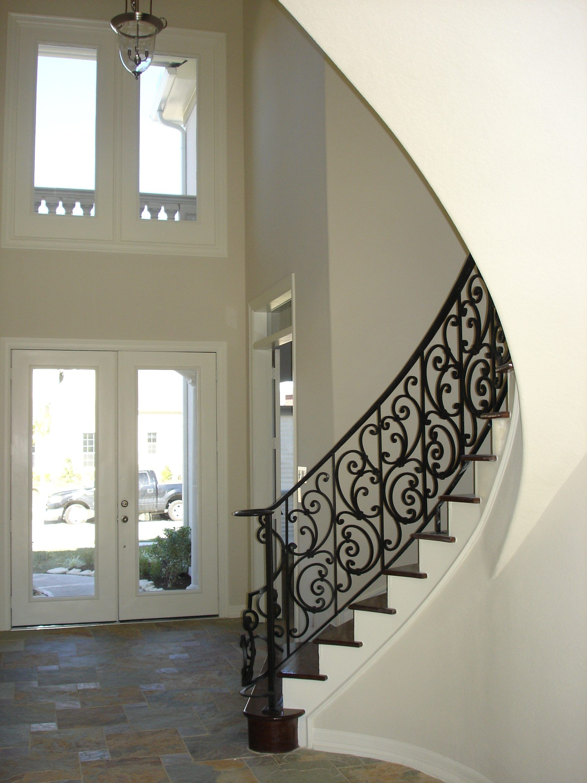 Tuscany C1 Flat Angled Cheap Stair Parts Staircase Design Stair Remodel