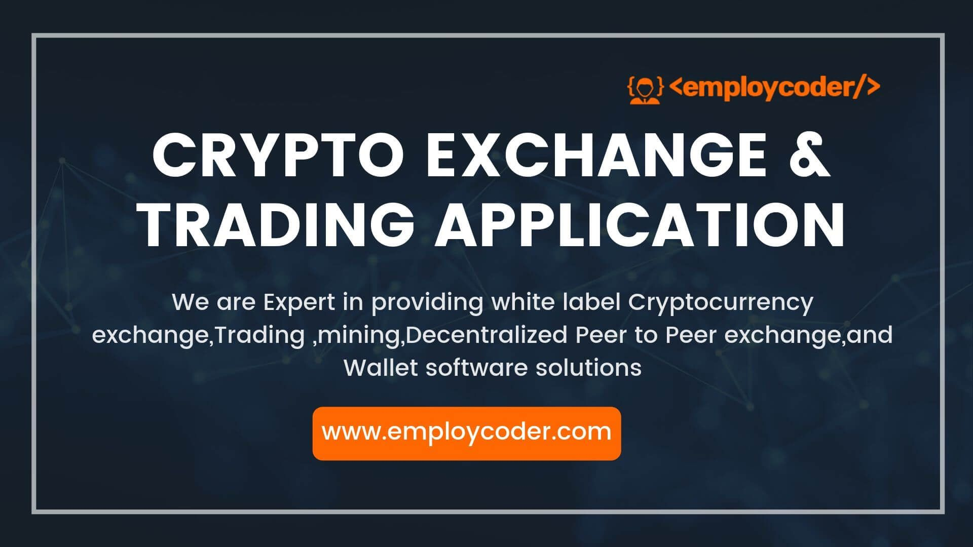 how to develop cryptocurrency exchange website