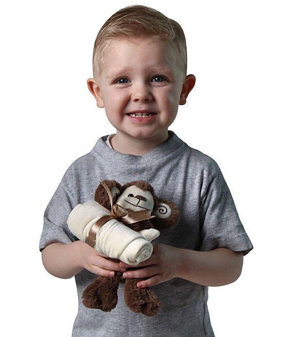 Monkey Snuggler Blanket