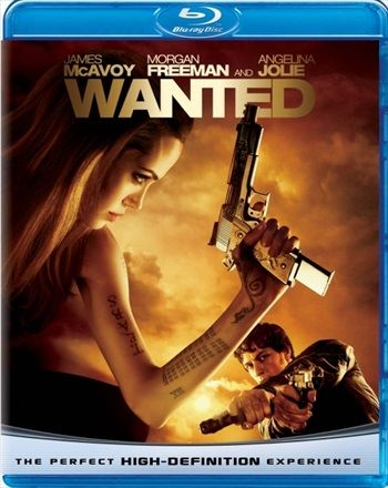 Wanted 2008 Hindi Dubbed Brrip Wanted Movie Angelina Jolie Movies Full Movies