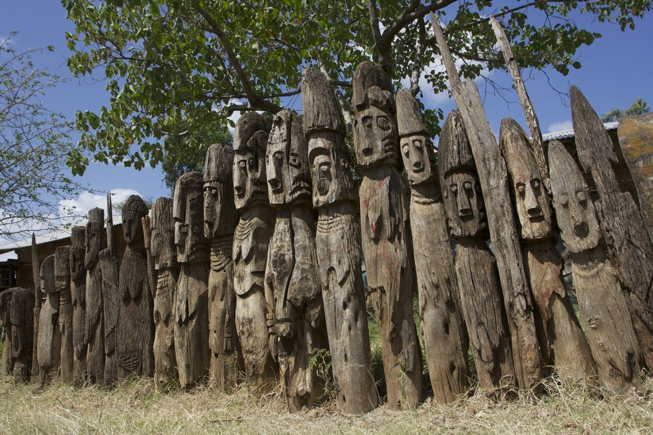 totem poles africa - Google Search