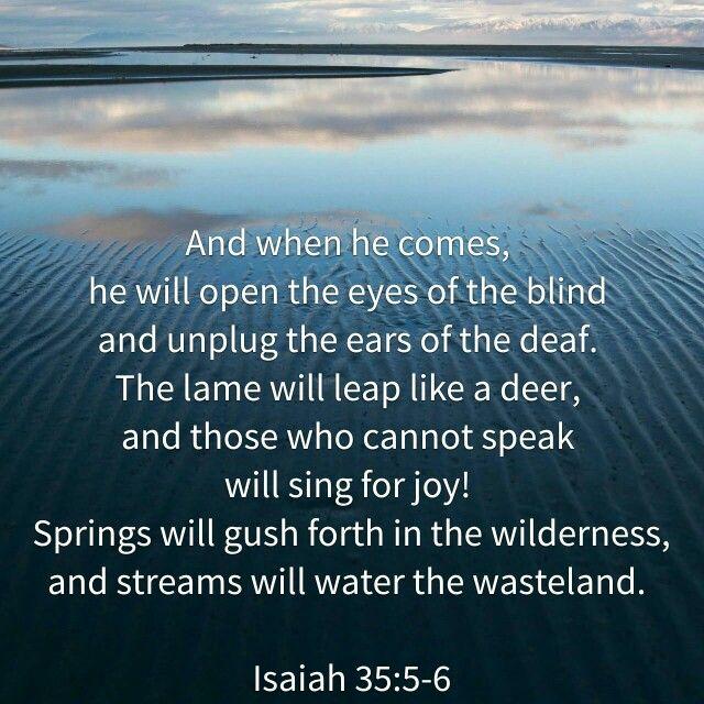 Isa 35:5-6
