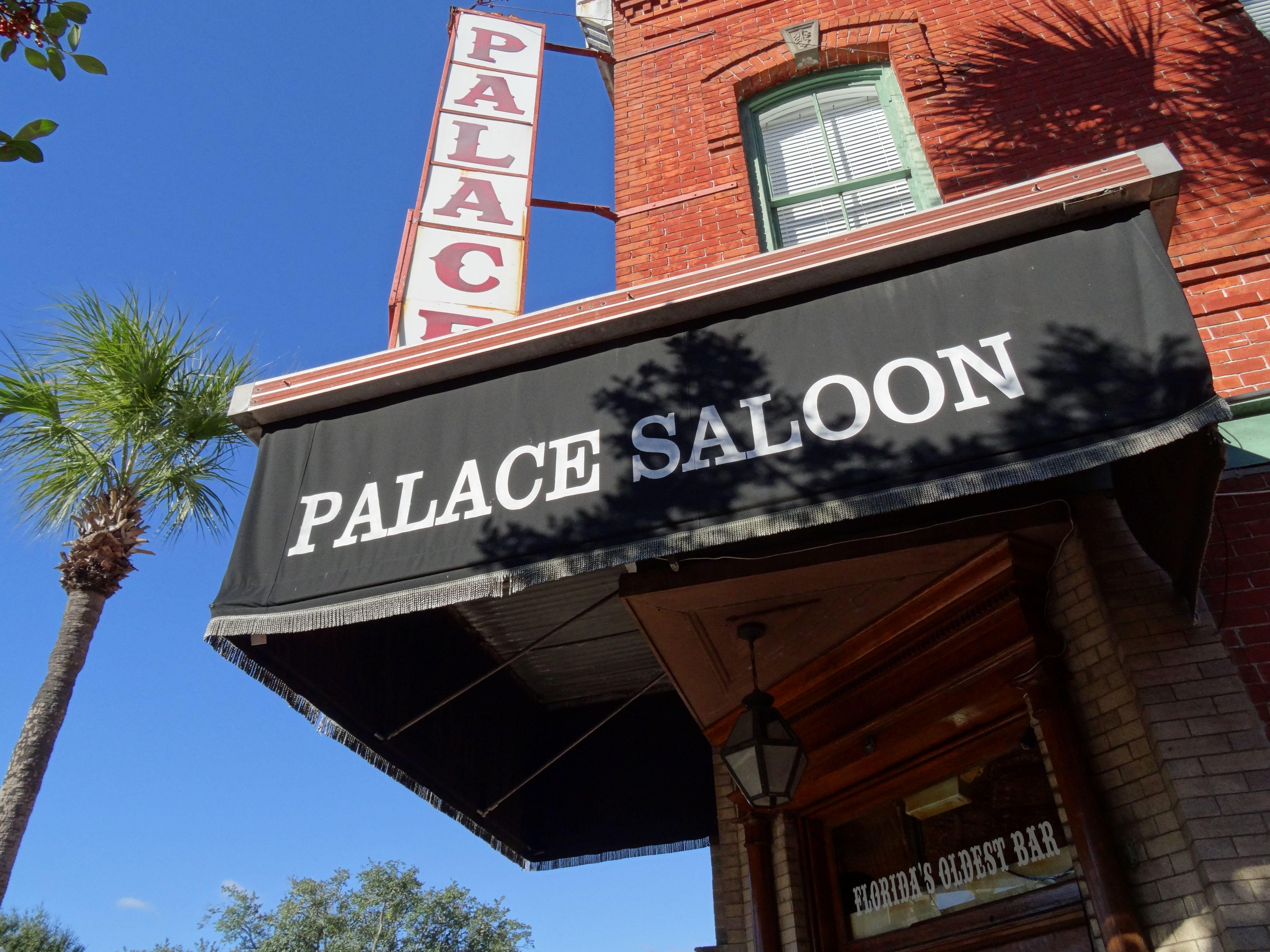 Florida's oldest saloon; Centre Street, Fernandina Beach.