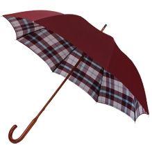 Burgundy / Maclean Tartan Classic Umbrella