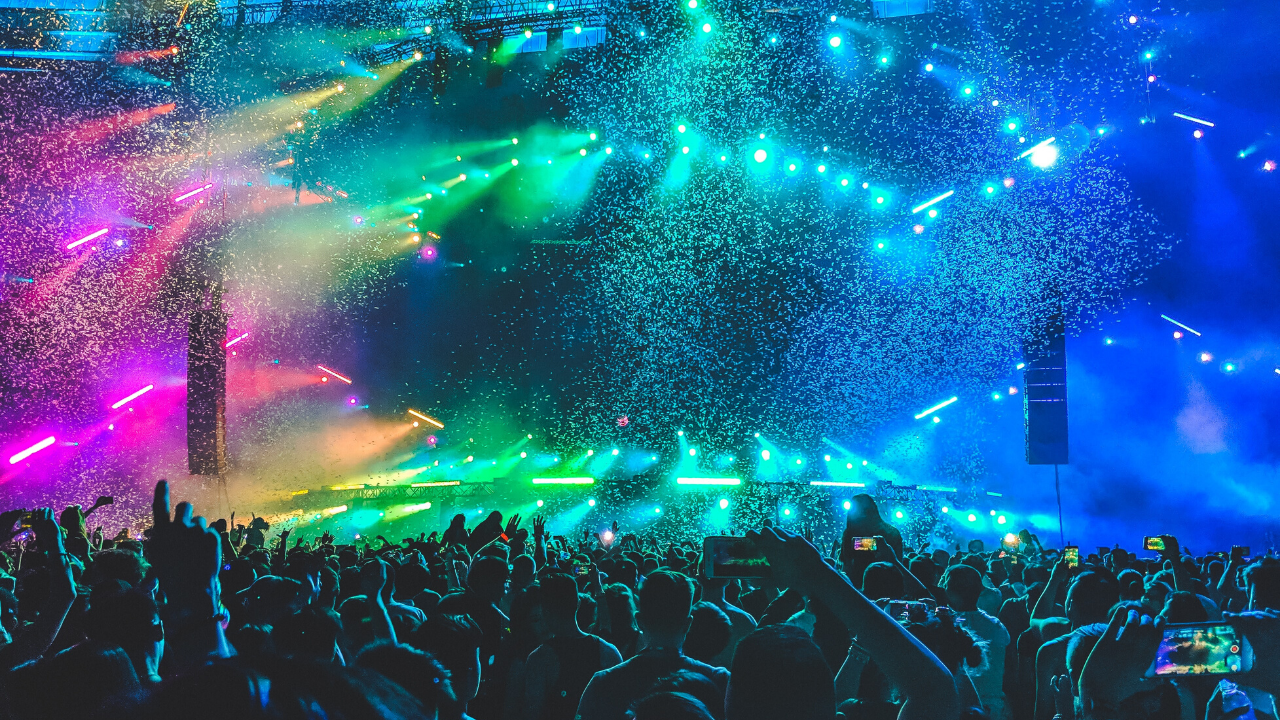 39 Free Zoom Backgrounds To Amp Up Your Virtual Party Concert Electronic Dance Music Dj