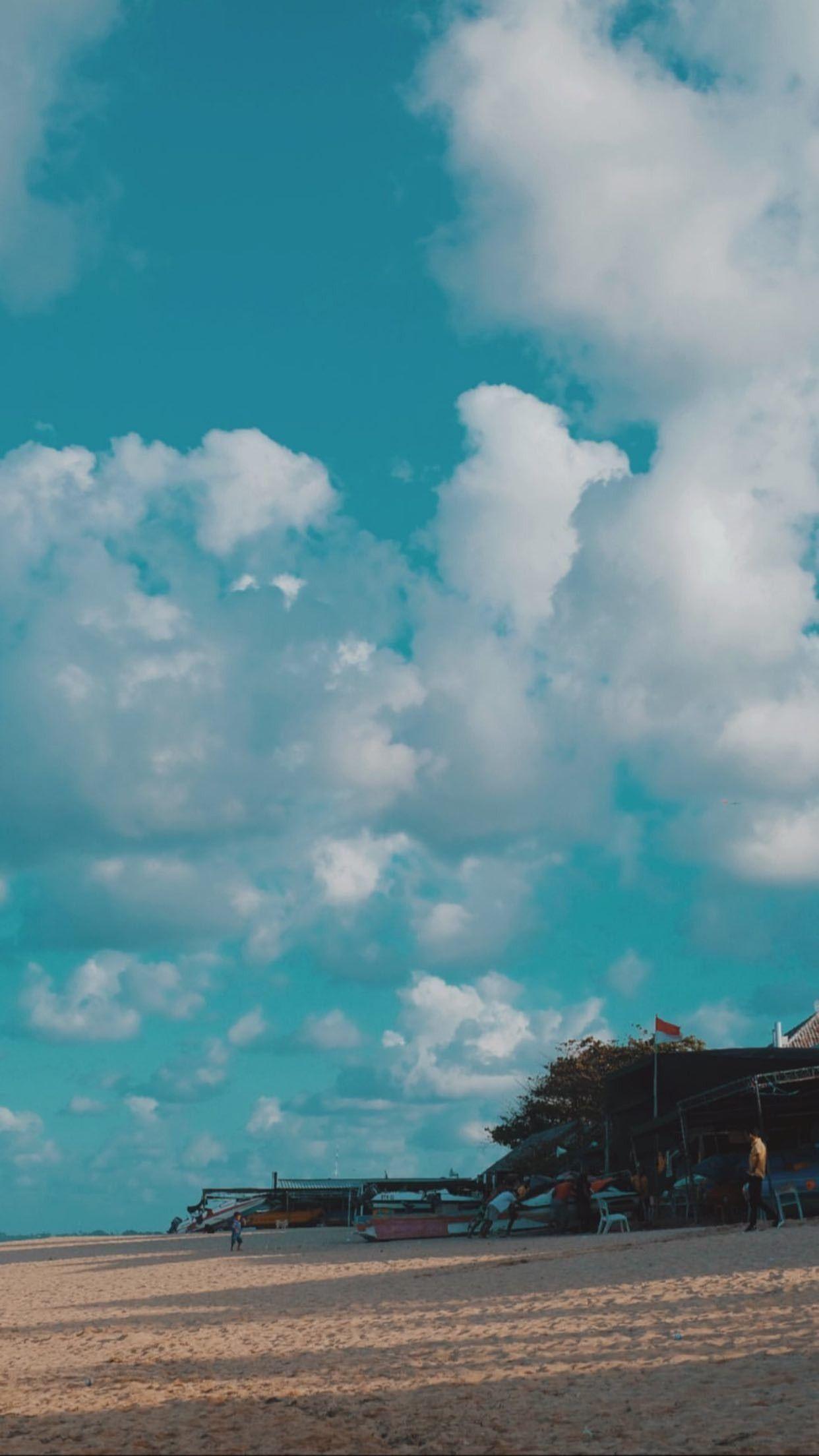 aesthetic wallpaper awan