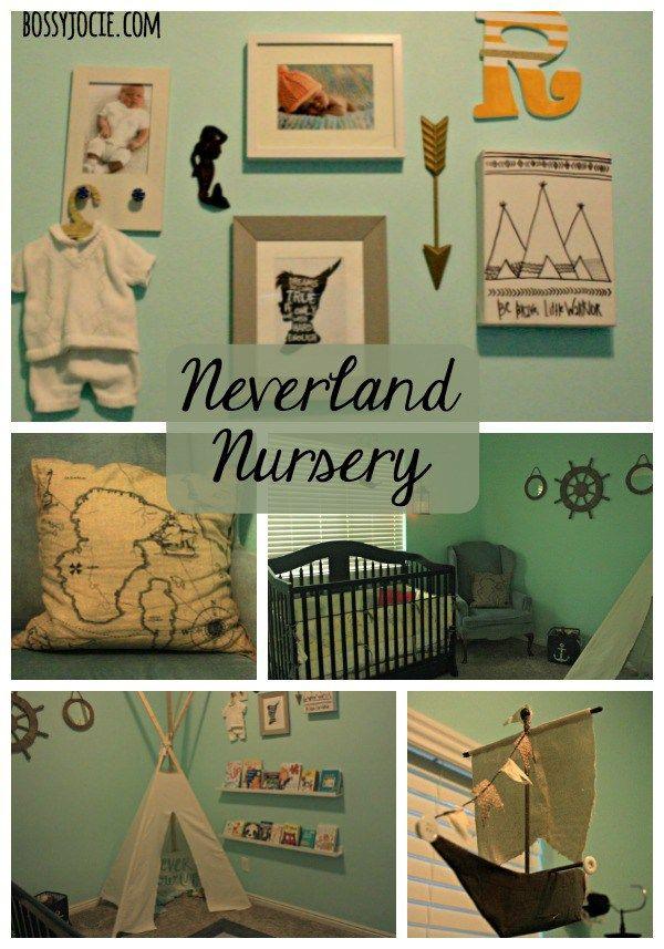 Baby Themed Bedroom Ideas: Neverland Themed Nursery