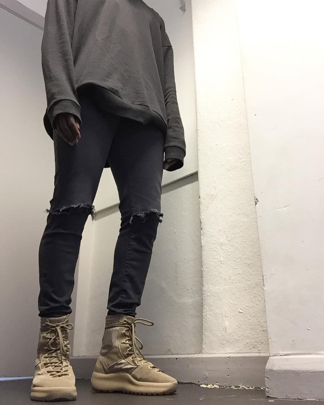 165b3689552c4 Yeezy military boots