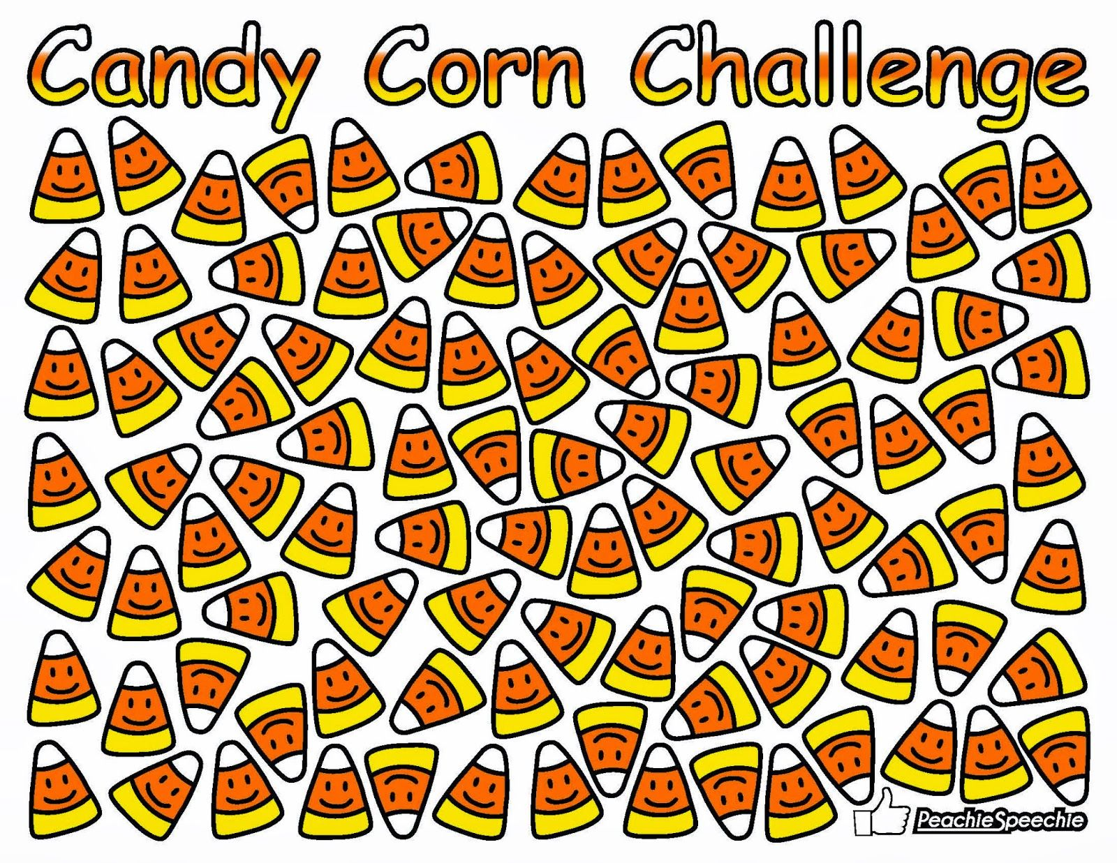 The Peachie Speechie Candy Corn Challenge Already