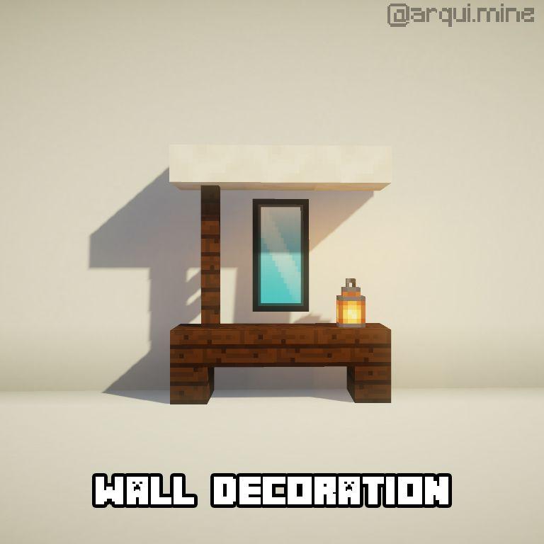 Minecraft ideas | Minecraft, Home decor, Decor