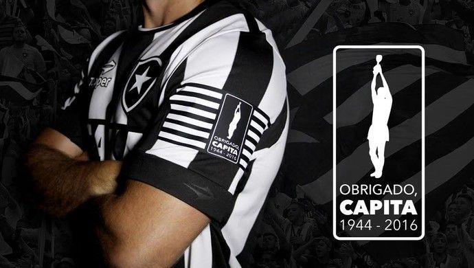 Botafogo faz camisa especial para homenagear Capita contra o Coxa ... c41a88d5b62e2