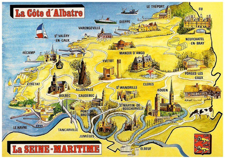 La cote d 39 albatre d partement seine maritime - Haute normandie mobel ...