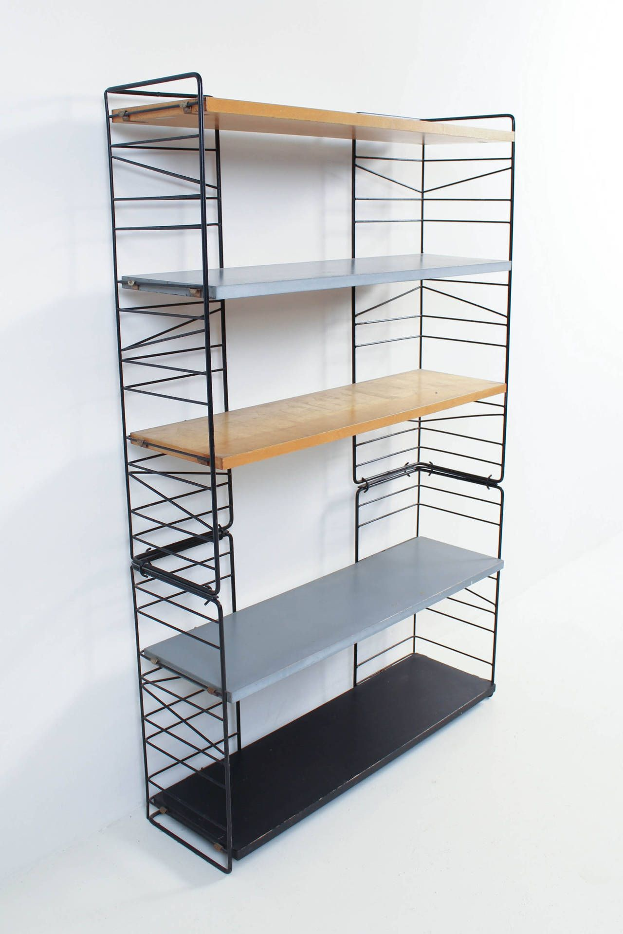 Accessories U0026 Furniture,Stunning Freestanding Modular Shelving Units With  Brown Wooden Cube Shelf And White Metal Shelf Holder,Best Collection Moduu2026