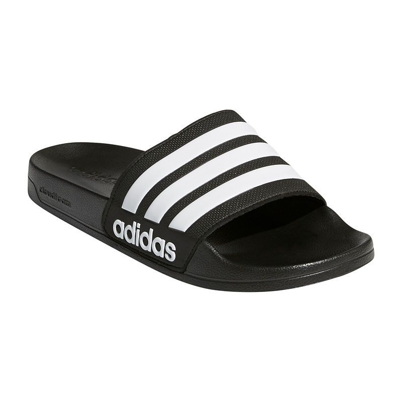 a4efea8d8 adidas Mens Adilette Cloudfoam Slide Sandals | Products in 2019 ...