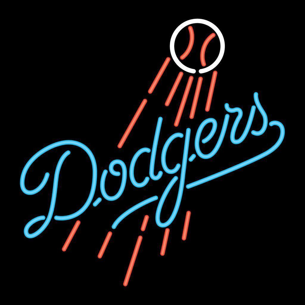 Los angeles dodgers logo neon sign los angeles dodgers stuff i los angeles dodgers logo neon sign buycottarizona Image collections