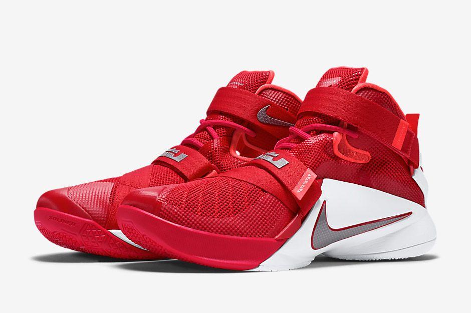 Nike LeBron Soldier 9 'Ohio State Buckeyes'
