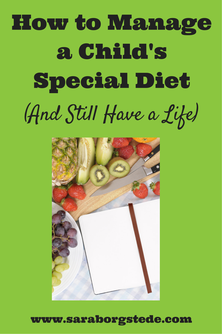 How to Manage Your Childs Special Diet