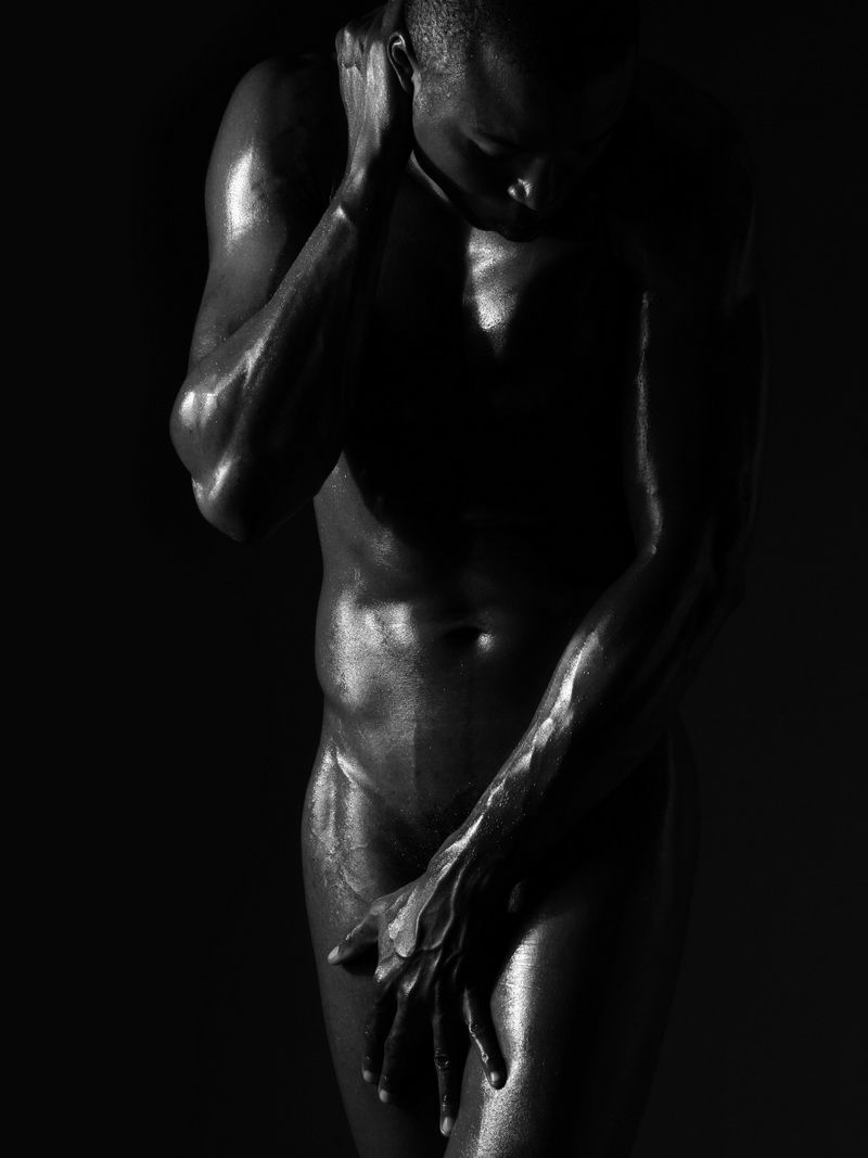 All above Black male nude photography join