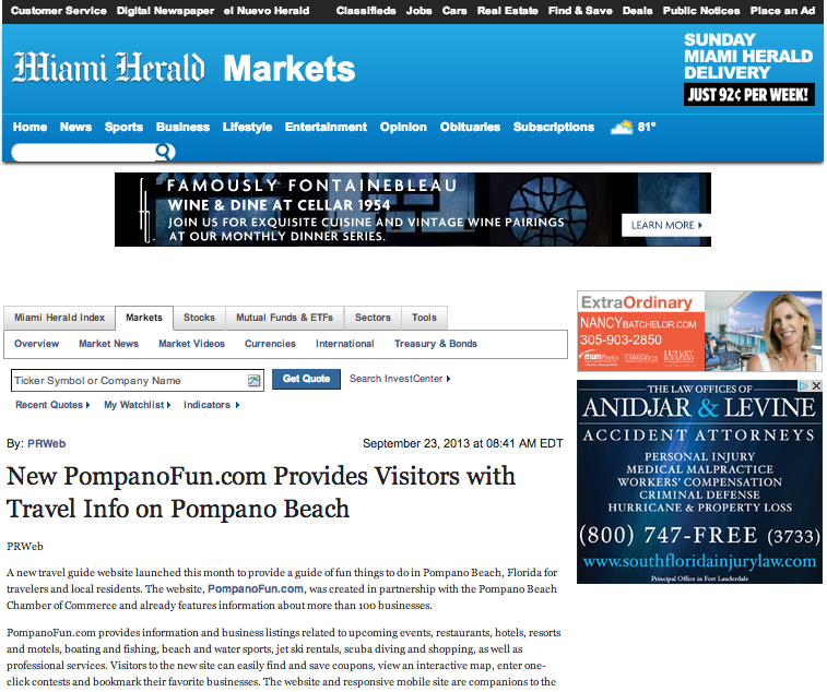 An Important Media Placement For A Tourism Client Launching A New Website Tourism Pr Marketing Destinati Destination Marketing Marketing Digital Newspaper