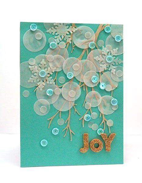 Unique Christmas Card Ideas , Beautiful Handmade Christmas Cards ...