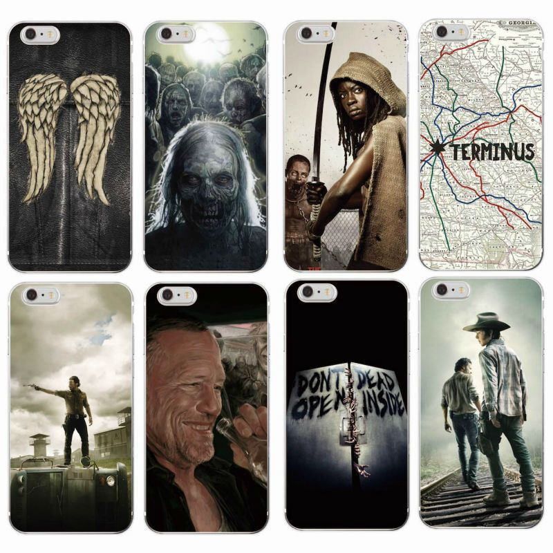daryl dixon the walking dead quotes for funda Iphone Case funda