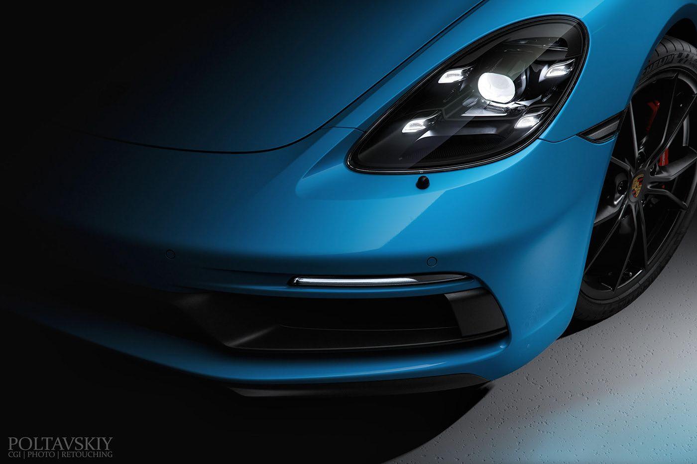 Behance 为您呈现 in 2020 Digital art photography, Porsche