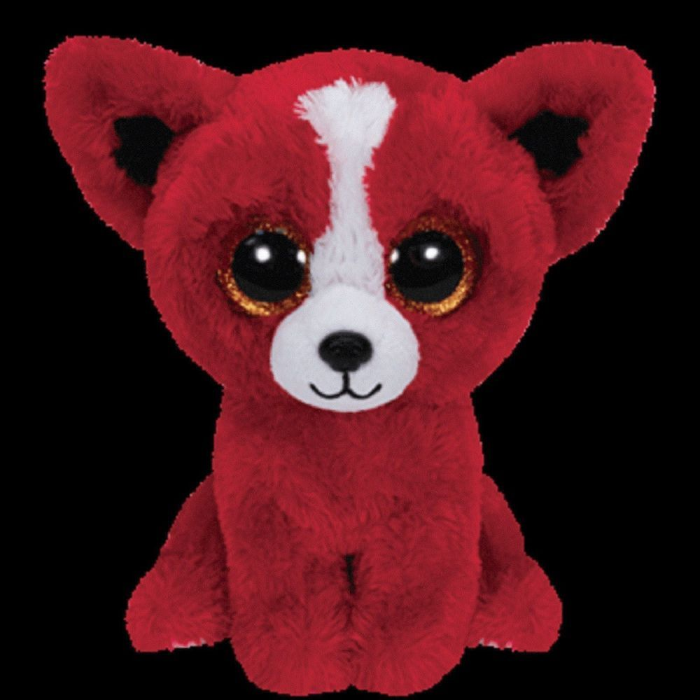 cbbfabdcde1 Ty Tomato the Red Dog Puppy Beanie Boos Stuffed Plush Special Edition Toy