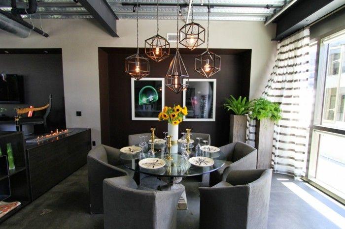 industrielampe wohnzimmer essbereich beleuchten Beleuchtung - moderne wohnzimmer leuchten