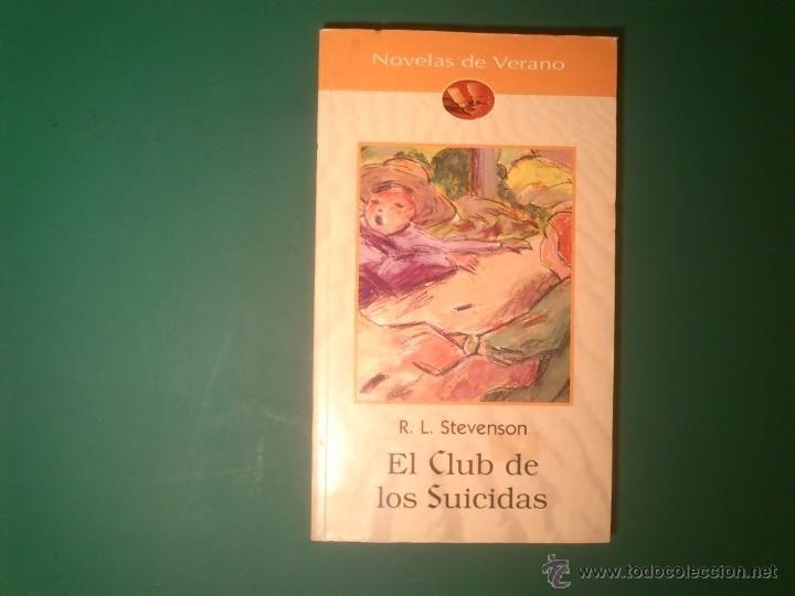 Genial librería Pequod! (BCN Gracia) El club de los suicidas, R. L. Stevenson