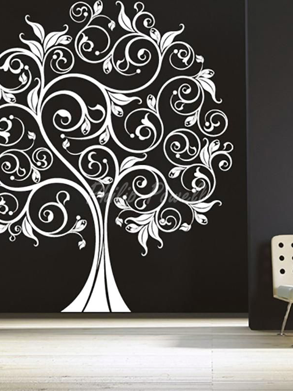 Life Quotes Wall Art Canvas Painting Tree Wall Decal Vinyl Wall Nursery Wall Stickers