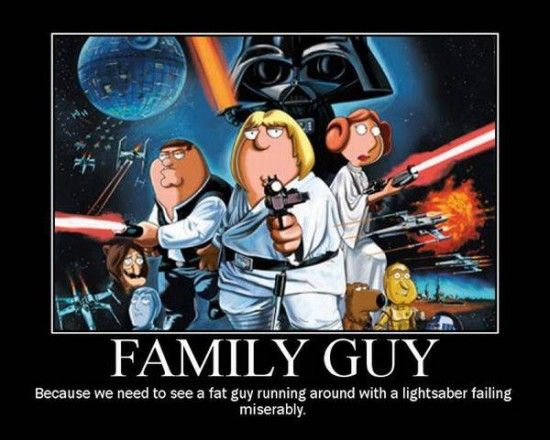 Funny Family Guy Motivational Posters_16 Star Wars