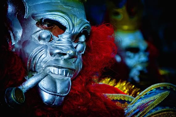 Acabo de compartir la foto de Milton Rodriguez Triviños que representa a: Máscara de la Candelaria