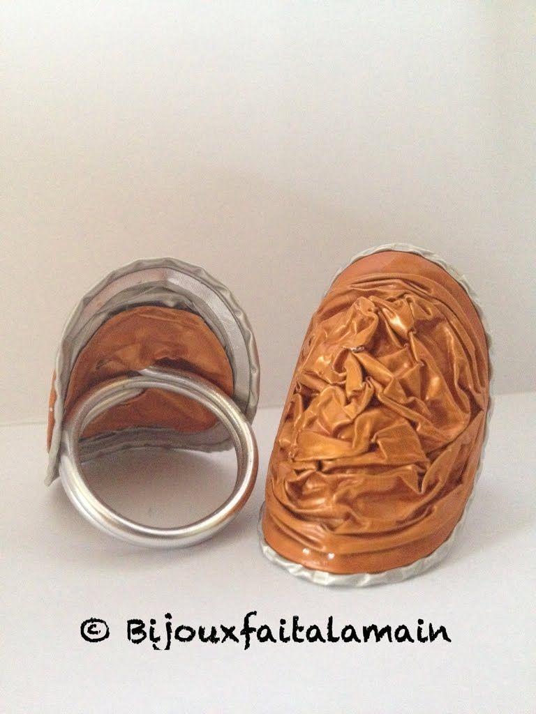 DIY Nespresso Comment,faire une bague en capsules.