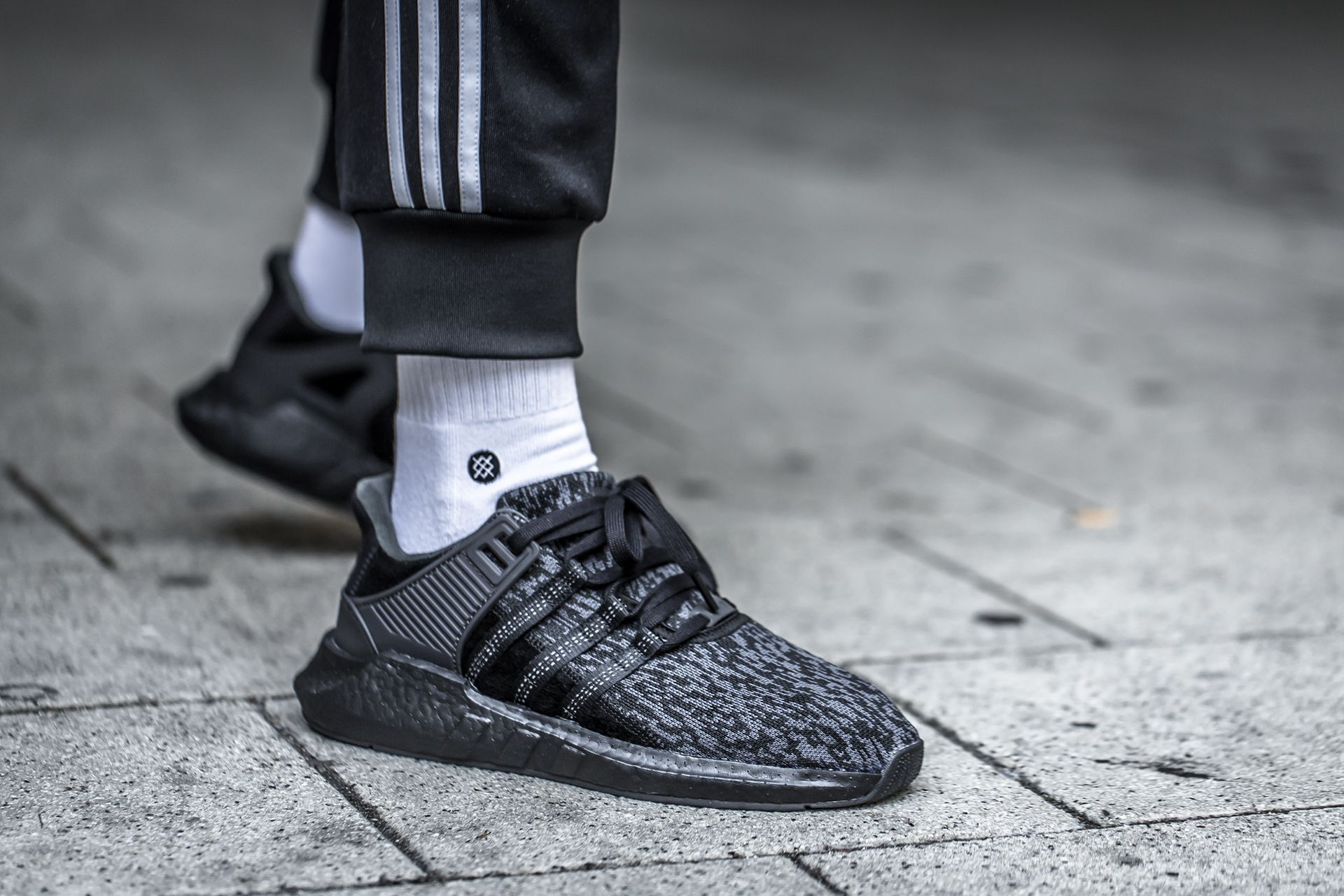 sale retailer 70925 904ad adidas EQT Support 93/17 Triple Black | adidas in 2019 ...