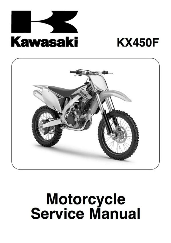 2009 Kawasaki Kx450f Service Repair Manual Genuine Honda Yamaha Ktm Service Repair Manuals Instant Pdf Download Go To Www Offroad Autos Y Motos Autos Motos