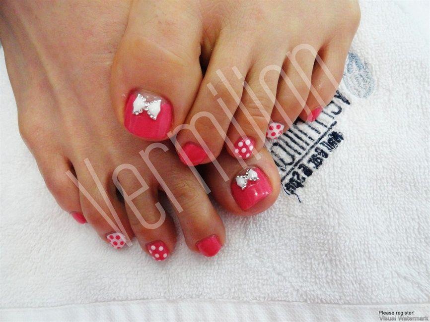 cute toes - Nail Art Gallery | nails | Pinterest | Nail art ...