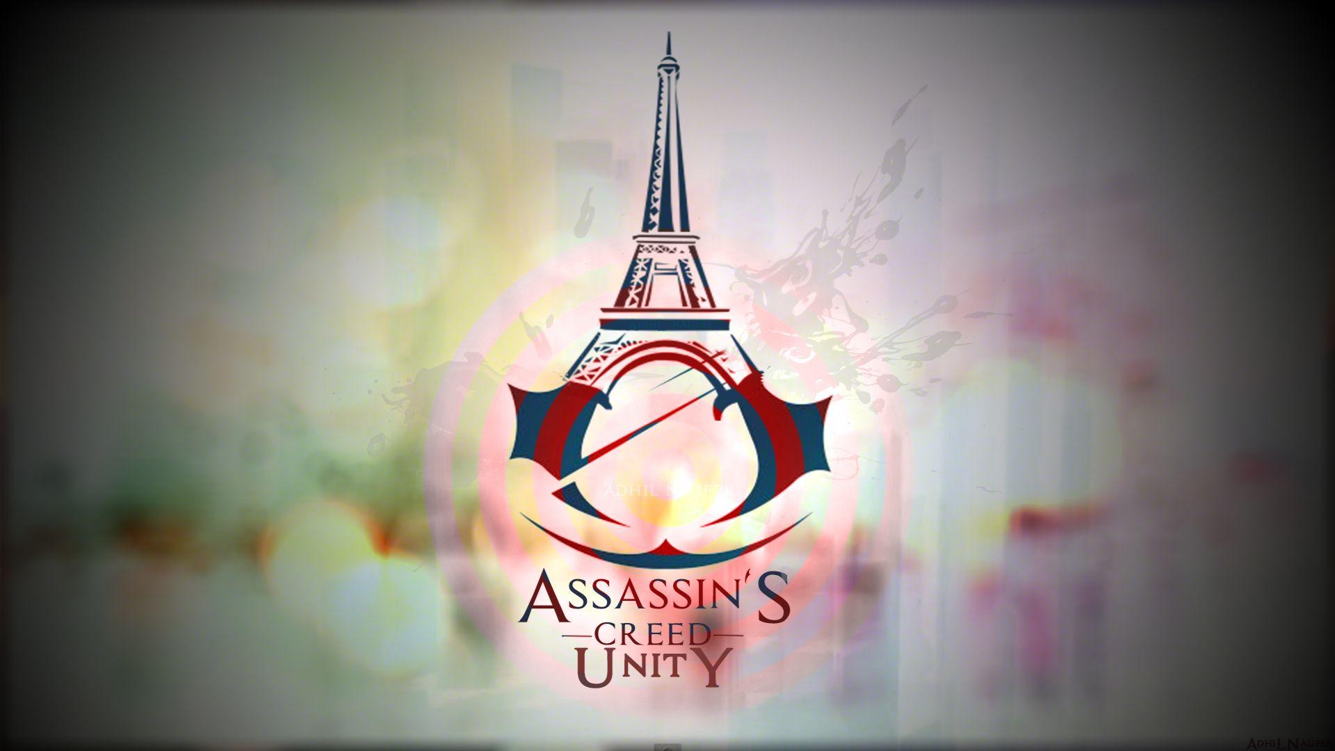 Assassin S Creed Unity Logo Hd Wallpaper