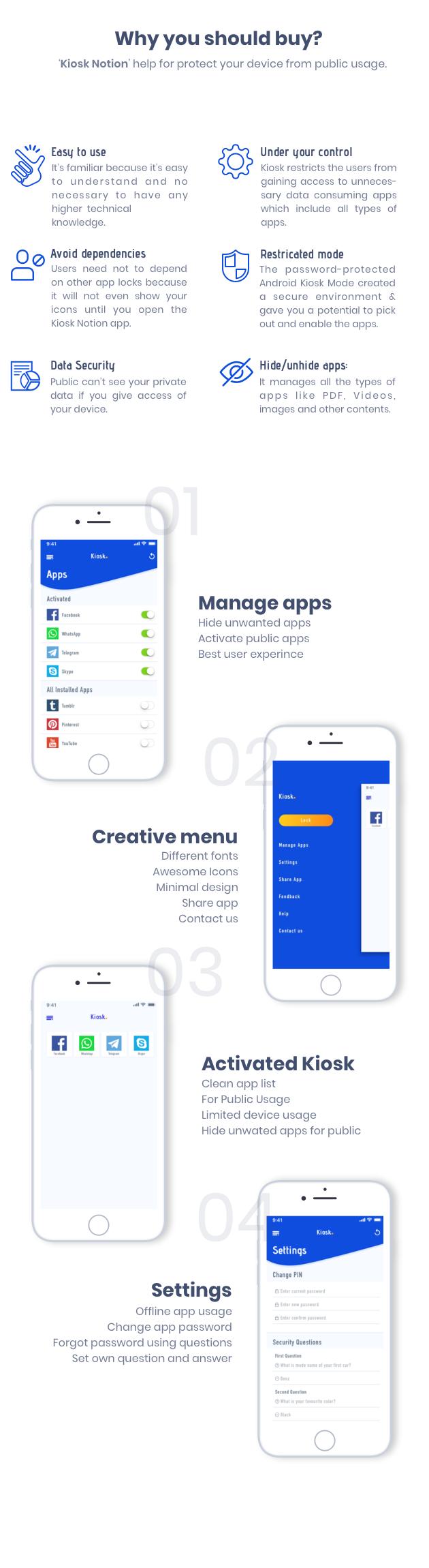 Kiosk Notion Android Native App App, Kiosk app, Kiosk