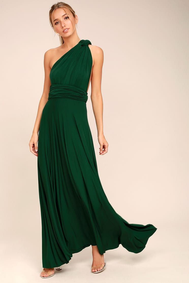 e59abbef35830 Forest Green Bridesmaid Dresses For Sale