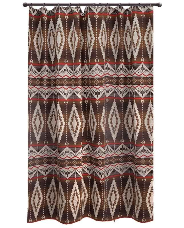 Pecos Trail Shower Curtain 72 X 72 Southwestern Shower Curtains