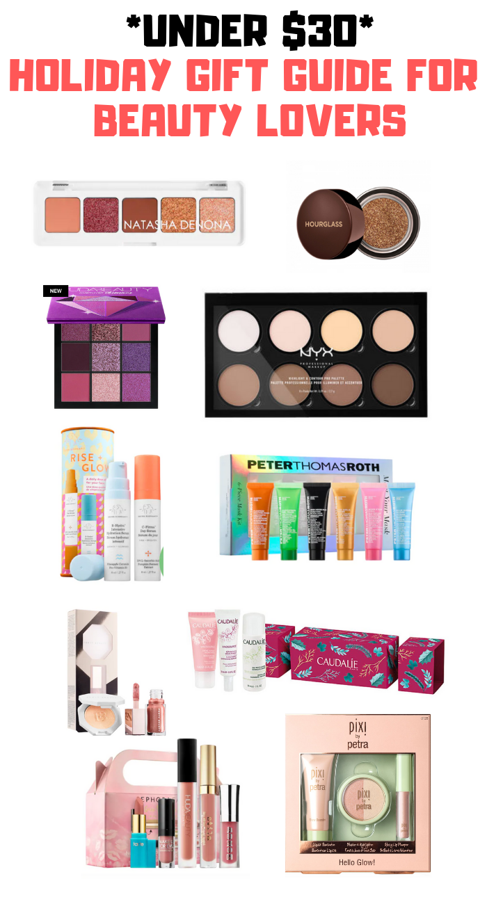 30 beauty holiday gifts under 30