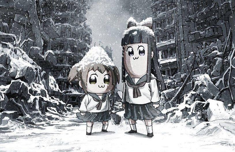 Adaptasi Anime Koplak 'Pop Team Epic' Umumkan Jajaran