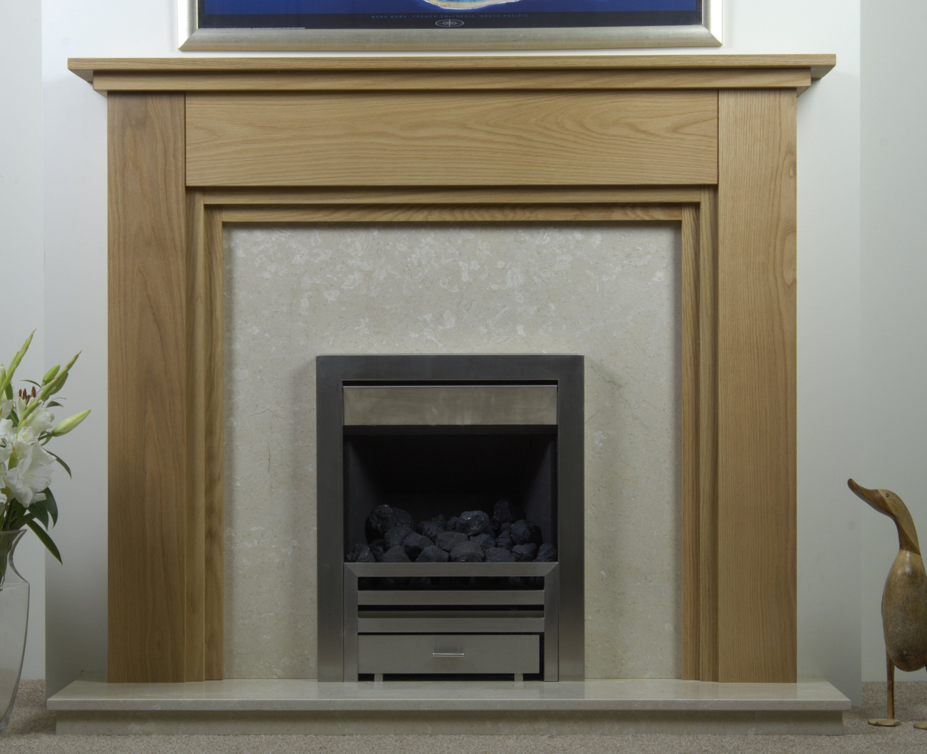 Wood Mantels Solid Oak Mantels Oak Fireplaces