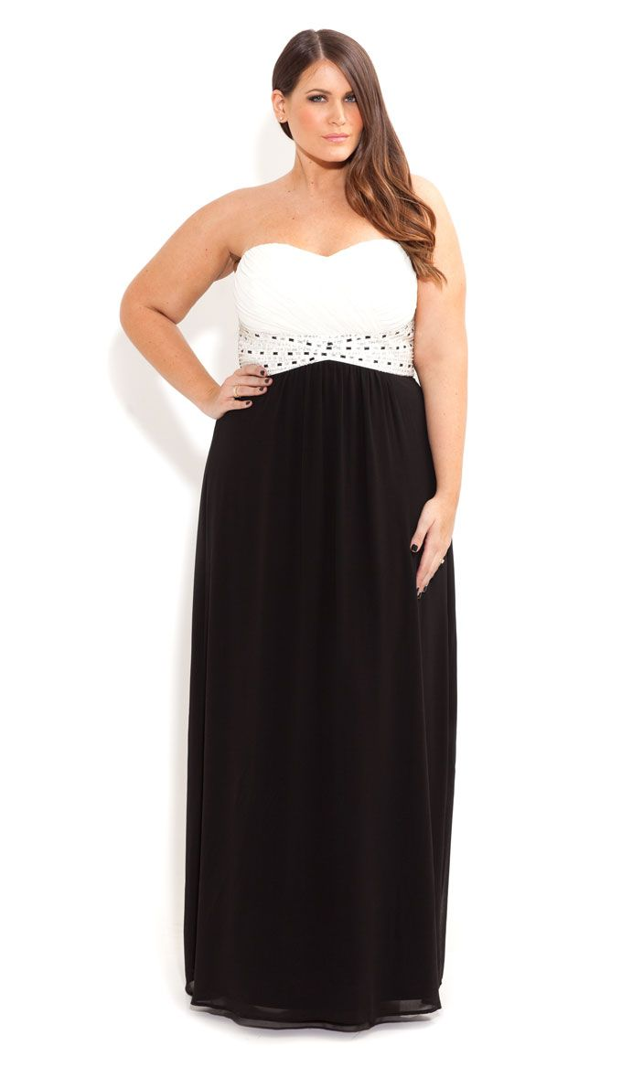 Contrast camilla maxi by city chic my style pinterest city chic